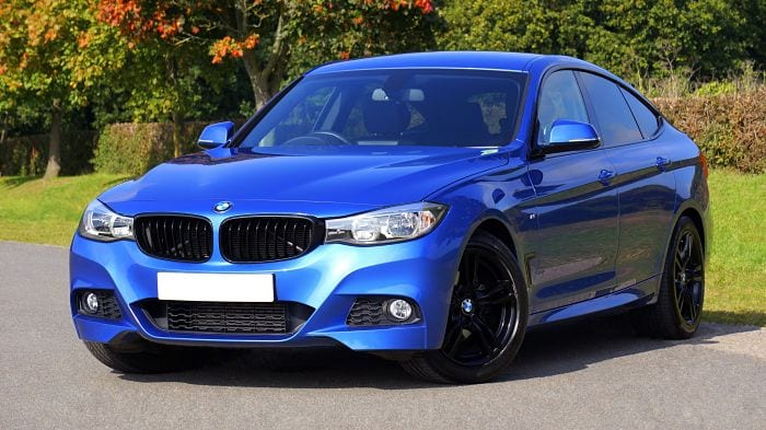 Blue BMW Needcarhelp